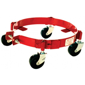 National Spencer Band-Type Dolly W/ Phenolic Casters For 25-50 Lb. Pail