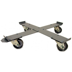 National Spencer Lip-Type Dolly W/ Steel Casters For 55 Gallon Drum