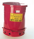 National Spencer 10 Gallon Foot-Operated Oily Waste Can. Fm & Ul Listed