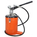 National Spencer Hand-Operated Grease Pump W/ 22 Lb. Fully Enclosed Container