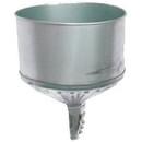 National Spencer 8 Quart Lock-On Galvanized Funnel W/ Screen & 1