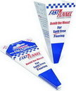 Zee Line 791 8.5 oz. disposable paper funnel - quantity of 36 in 3 packs