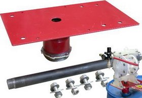 National Spencer Double Diaphragm Pump Drum Adapter