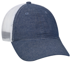 Outdoor Cap FWT-130CB Chambray Garment Washed, Mes...