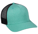 Outdoor Cap RGR-100M 5 Panel Heathered, Mesh Back Cap