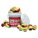 Oncourt Offcourt Quick Start 36 Ball Bucket with 30 Balls