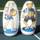 Oncourt Offcourt Inflatable Knockdown Targets - set of 2