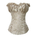 Muka Gold Elegant Printed Fashion Corset Top Bustier Lingerie, Gift Ideas