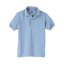 Hanes 054Y Kids' Cotton-Blend Jersey Polo