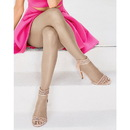 Hanes 0B376 Silk Reflections Ultra Sheer Toeless Control Top Pantyhose