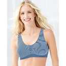 Barely There by Bali 103J Comfort Revolution Microfiber Crop Top