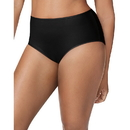 Just My Size 1710C5 Cotton-Stretch Women's Brief Panties — 5-Pair Pack