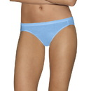 Hanes 42HUCC Ultimate Comfort Cotton Women's Bikini Panties 5-Pack