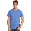 Hanes 498P Men's Nano-T Pocket T-Shirt