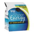 L'eggs 60107 Sheer Energy Control Top Sheer Tight As Seen On TV