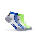 Champion Men's Mid-Ankle Running Socks 2-Pack , CH211