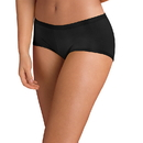 Hanes ET49AS TAGLESS Cotton Stretch Women's Boy Brief Panties with ComfortSoft Waistband 3-Pack