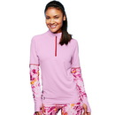 Duofold by Champion THERMatrix Women's 1/4 Zip Printed Pullover , KDC3QP