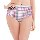 Hanes P540AD Women's Plus Cotton Brief Panties 5-Pack
