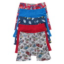Hanes TB75P5 Toddler Boys' Printed Boxer Briefs with Comfort Flex Waistband 5-Pack