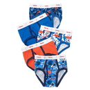 Hanes TB78P5 Toddler Boys' Ringer Brief with Comfort Flex Waistband 5-Pack