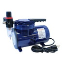 Paasche D220R 1/6 H.P. Diaphragm Compressor w/ Regulator----product weight: 11.5