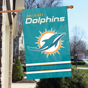 Dolphins, Applique Banner Flags