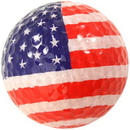 Chromax Novelty Golf Balls Bulk--US Flag
