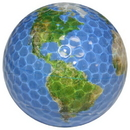 Chromax Novelty Golf Balls Bulk--Globe