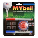 Greenskeeper MYball Marking Tool Patriotic Series