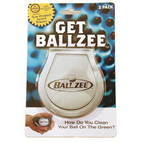 Ballzee Pocket Ball Towel 2 pc. Blister Pack