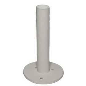 "PAS 3 1/4"" Dura Rubber Tee, White, Price/Each"
