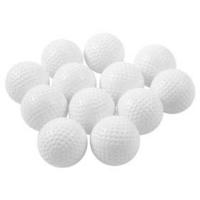 PAS 12/Pack Deluxe Dimpled Practice Balls--White, Price/Pack