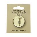 ProActive Sports Visor Clip w/Golfer Coin Antique Brass
