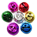 Aspire Multi-color Shiny Jingle Bells for Wreaths, 18mm, 100pcs