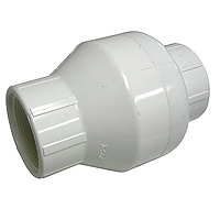 "NDS KSC-1500-T Swing Check Valve, 1 1/2"" Threaded"