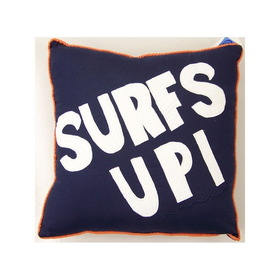 PEM America Catch a Wave Surfs Up Pillow.