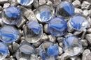 Penn-Plax Gem-Stone Swirls - Blue&Clear / 100 Pieces