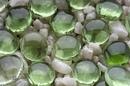 Penn-Plax Gem-Stones - Green / 100 Pieces