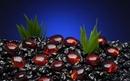 Penn-Plax Gem-Stones - Red / 100 Pieces
