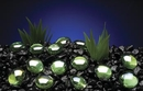 Penn-Plax Gem-Stone Pearls - Green / 100 Pieces