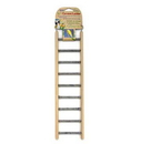 Penn-Plax 9 Step Ladder - for Small Birds / Asst. Colors