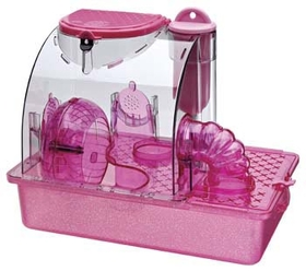 Penn-Plax Pink Princess Housing Unit / Small