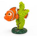 Penn-Plax FDR39 Nemo With Green Coral - Mini