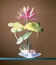 Penn-Plax Water Lily (Red)  / Medium - Green