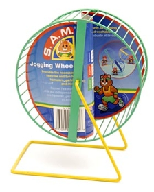 "Penn-Plax Medium Jogging Wheel - 5 ¾"" D."