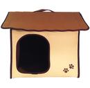 Penn-Plax ZH4 Khaki Dog Zipper House