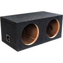 "ATREND E12D B Box Series Dual Sealed Bass Boxes (12"")"