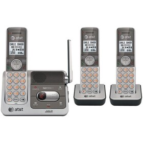 ATT CL82301 DECT 6.0 Cordless Phone System with Talking Caller ID & Digital Answering System (3-handset system), Price/each