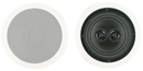 "BIC AMERICA MSR6D 6.5"" Dual Voice Coil Stereo Ceiling Speaker"